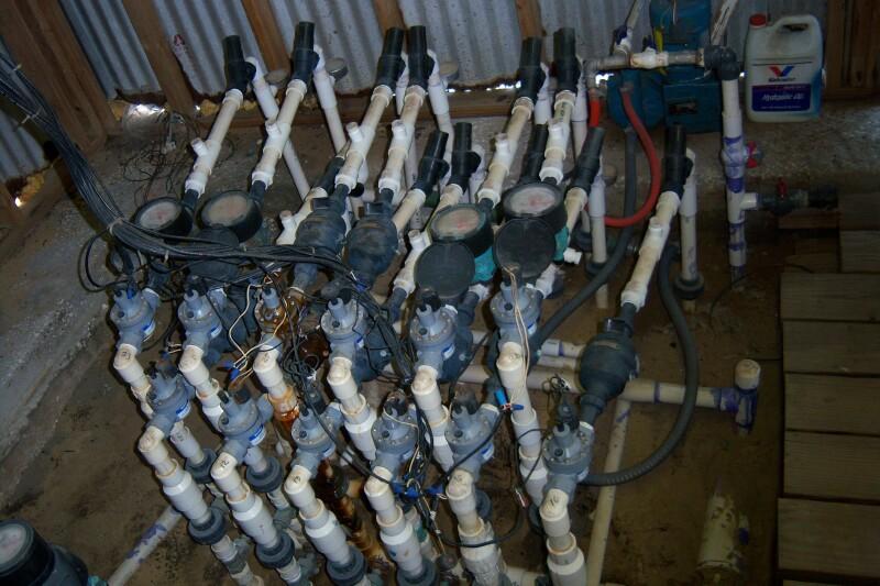 Arapaho Citrus Management Citrus Grove Irrigation Installation